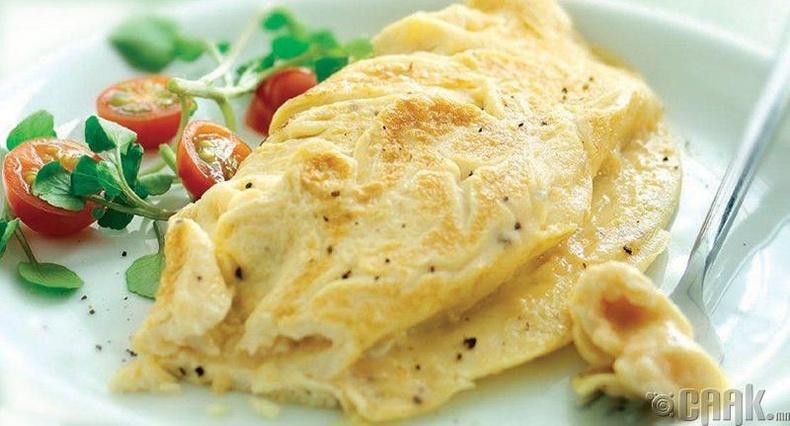 Идэж болохгүй хүнс - Шарсан өндөг