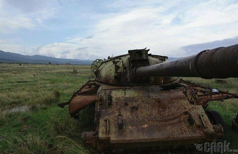 Болгарын Т-62 танк