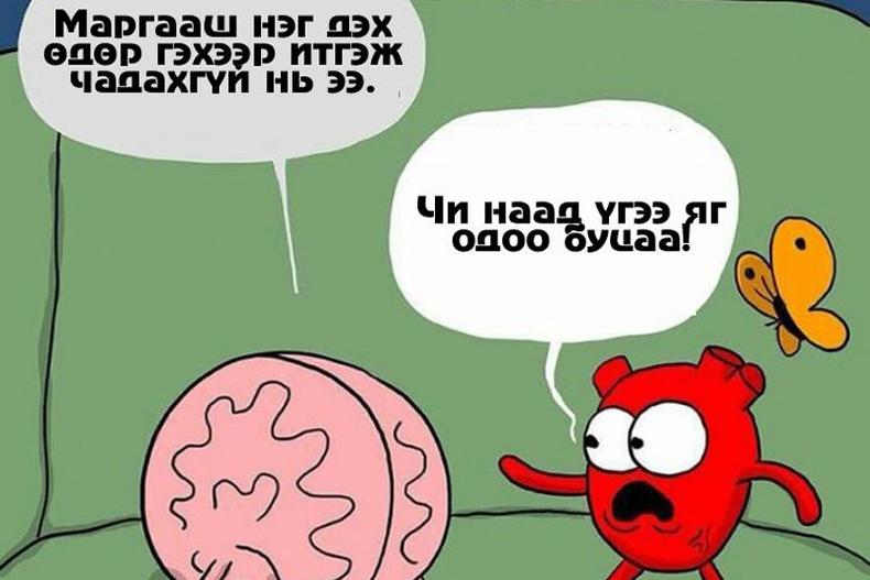 Хүний зүрх тархитай хэрхэн тэмцдэг вэ?