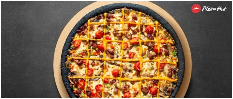 Хар пицца худалдаанд гарлаа!