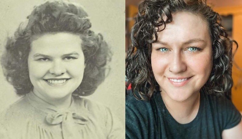 """""""Эмээтэйгээ адилхан."""""""