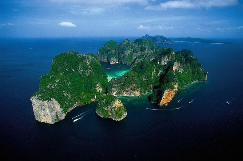 Фукет арал дээрх Фи Фи ле эрэг - Тайланд