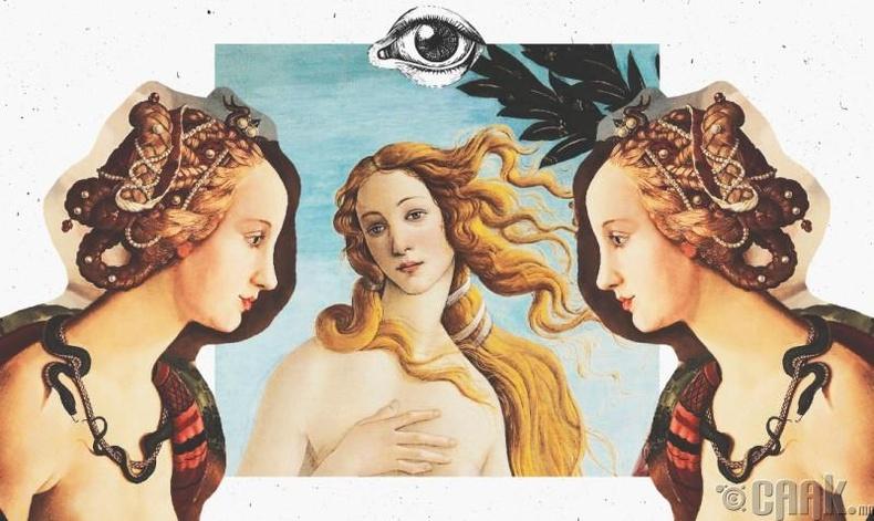 Симонетта Веспуччи - XV зууны бэлгэ тэмдэг