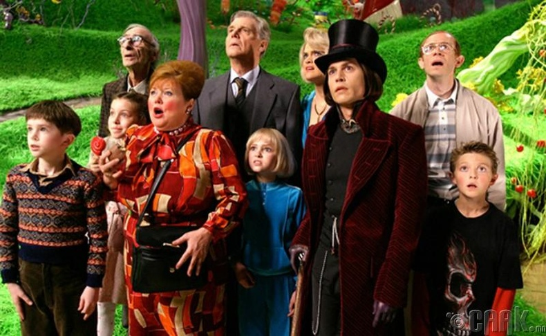"""Charlie and the chocolate factory"""