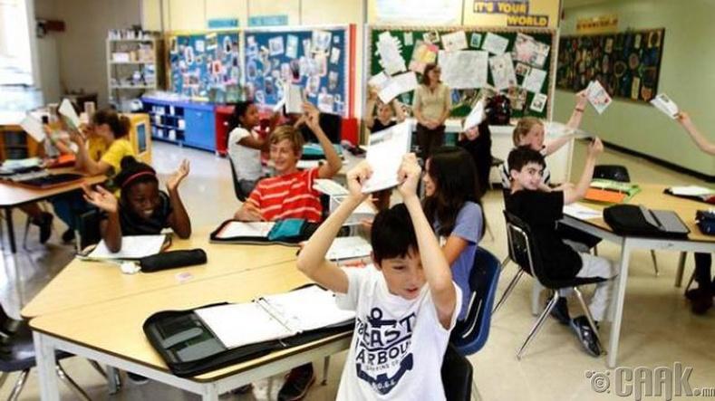 Канадад дүн, гэрийн даалгавар, сахилга бат гэж зүйл байдаггүй