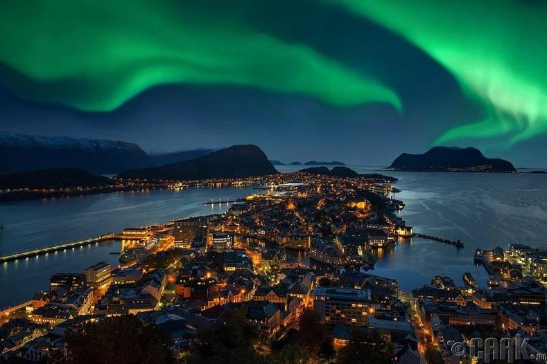 Норвеги нь дэлхийн хамгийн хойд захын улс - Худал
