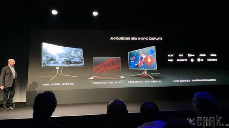 """3. """"NVIDIA""""-ийн шинэ дэлгэцүүд"""