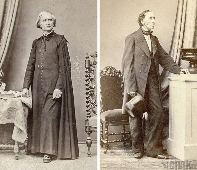 Ференц Лист, Ханс Кристиан Андерсен -185 см