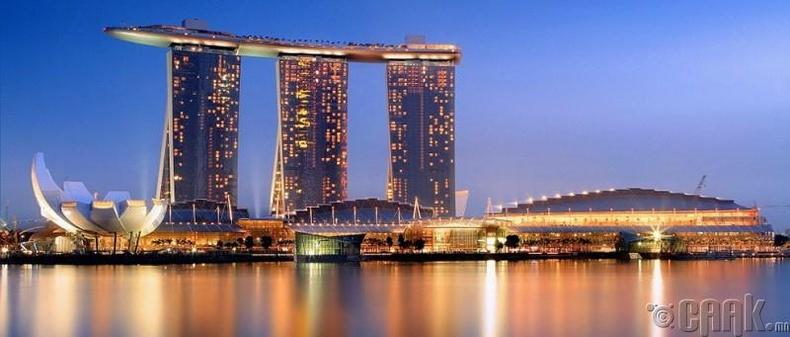"""Marina Bay Sands"" - Сингапур"