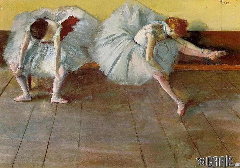 """Эдгар Дегагийн """"Франц бүжигчид"""""""