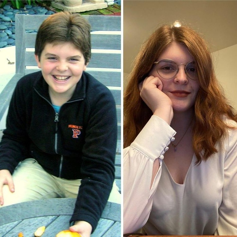 8 наснаас 22 насны хоорондох өөрчлөлт