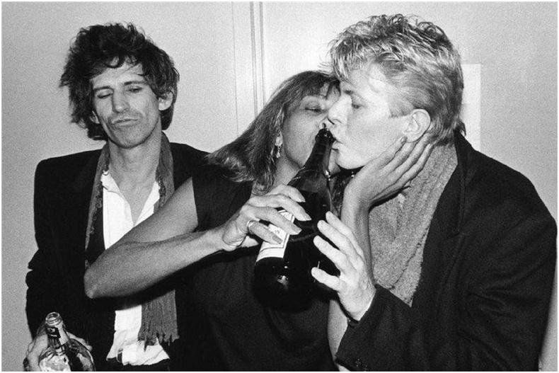 Кейт Ричард, Тина Тюрнер болон Девид Боуи нар, 1983 он
