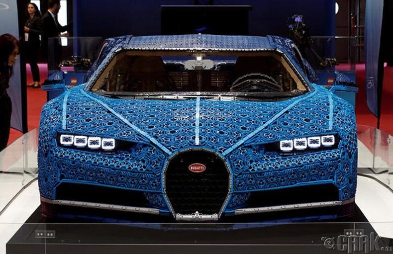 Bugatti Chiron. Үнэ: 2.5 сая ам.доллар