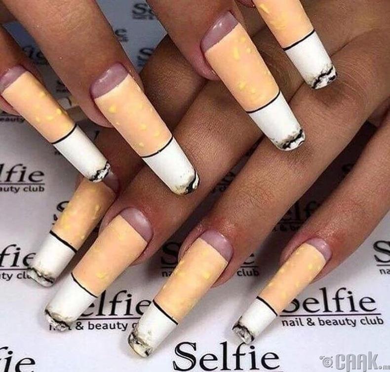 Тамхины иш шиг хумсны маникюр