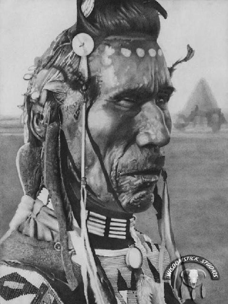 Канадын Альберта мужийн нутагт оршин суугч индианчууд