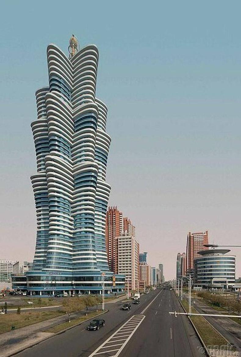 """53 давхар """"Unha Tower"""""""