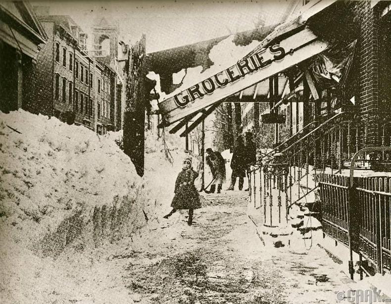 Нью Йорк хотын цасан шуурга