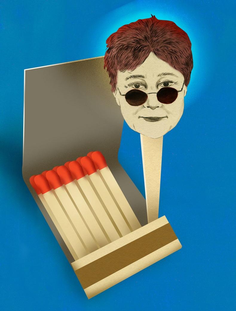 Йоко Оно - Шүдэнз асаах