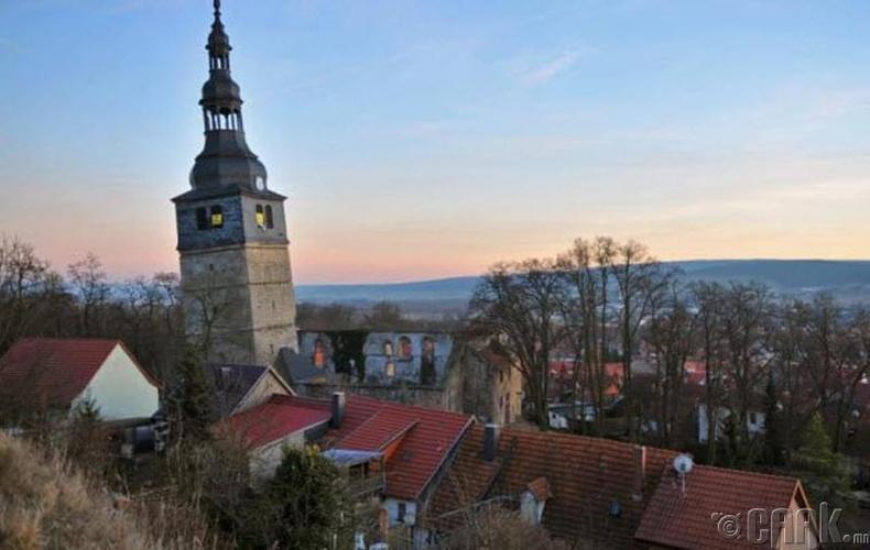 Бад Франкенхаузений хазгай цамхаг (Bad Frankenhausen) - Герман