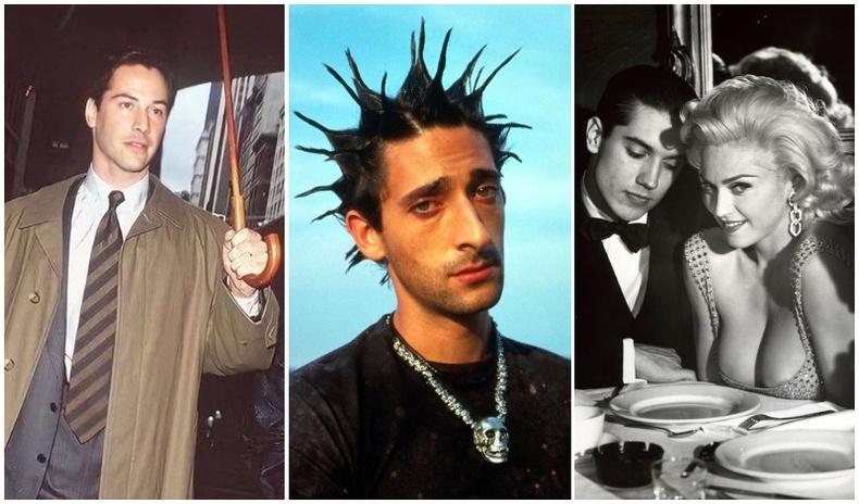 """Дэлхийн алдартнуудын ид """"гялалзаж"""" явсан үеийн ховор зургууд (35 фото)"""