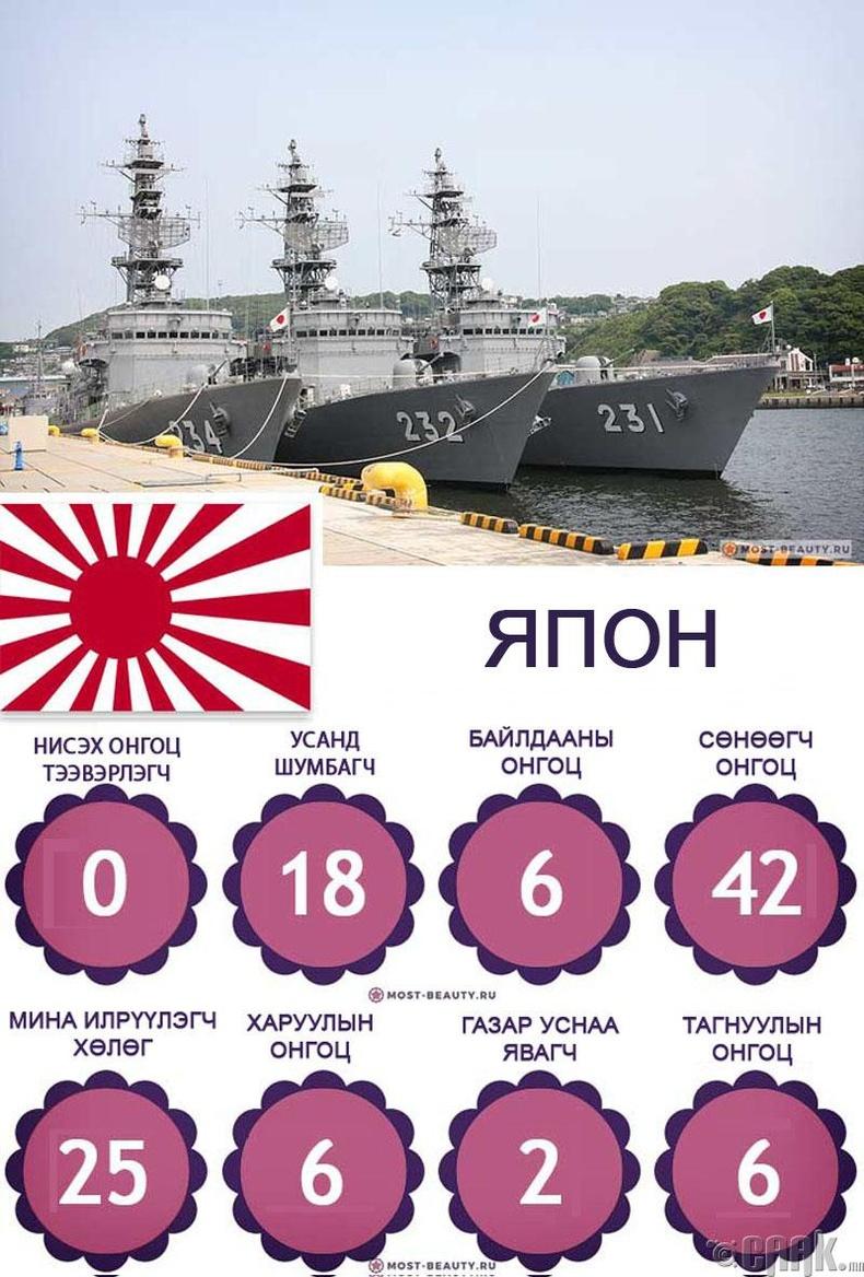 Японы өөрийгөө хамгаалах тэнгисийн хүчин