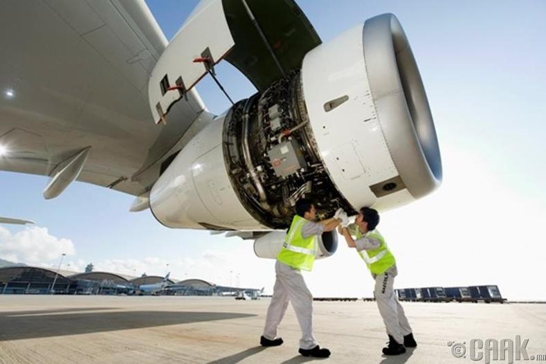 Нисэх онгоцны засвар үйлчилгээ - 16%