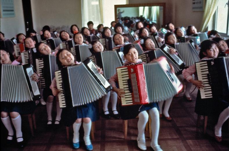 1980-аад оны Хойд Солонгос Япон гэрэл зурагчны дуранд
