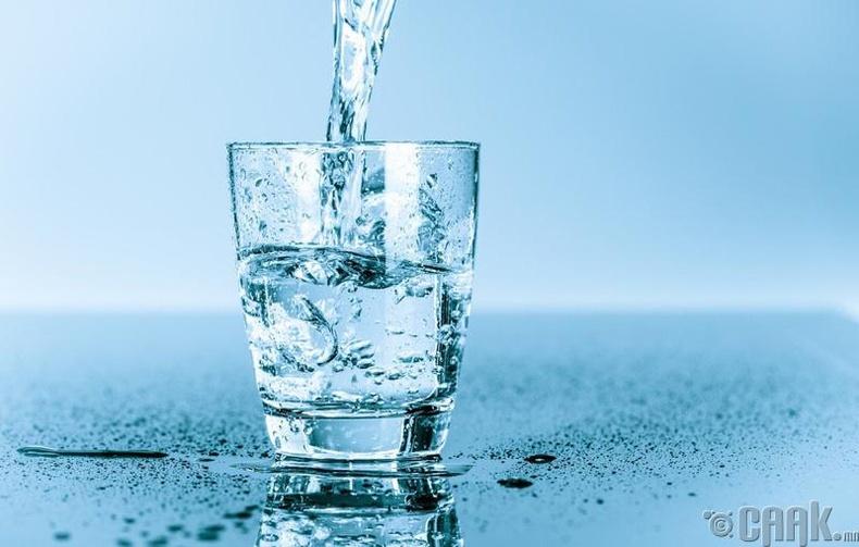 2 литр ус ууж хэвших