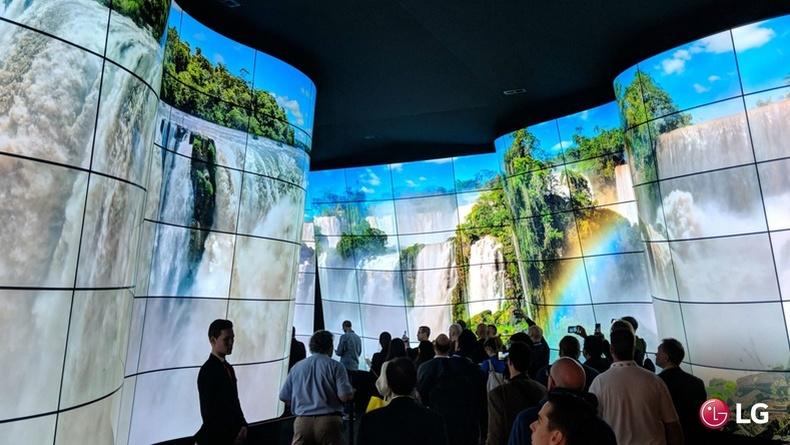 """""""LG Electronics"""" ирээдүйн дэлгэцийг танилцуулав"""