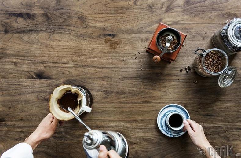 Кофе чанагч сет