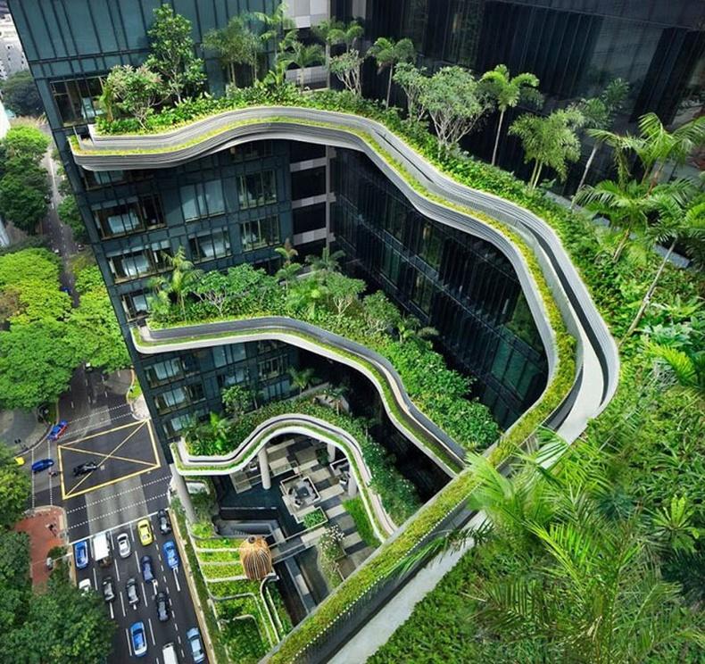 Сингапур дахь ногоон зочид буудал