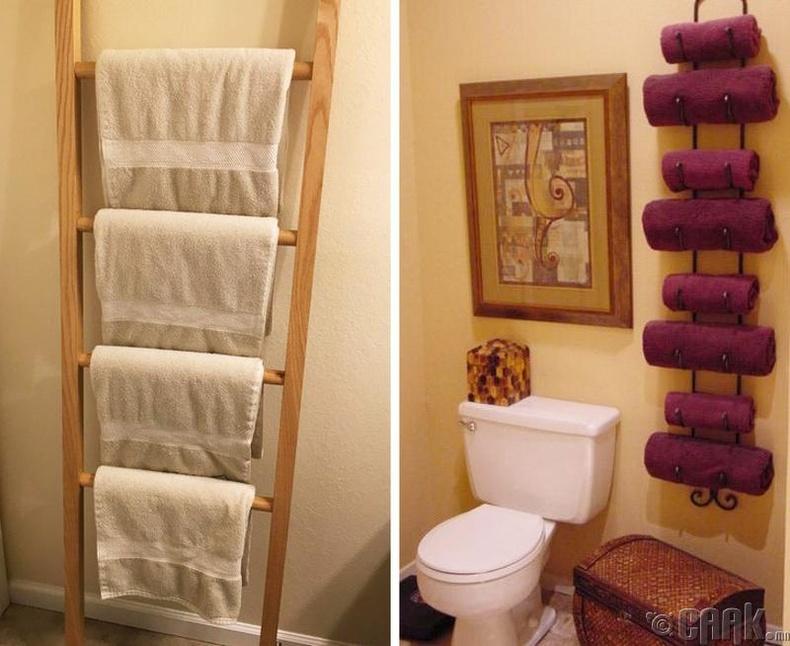 Угаалгын өрөөн дахь алчуур