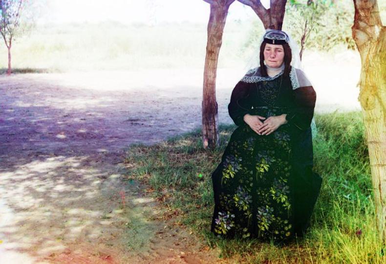 Гүрж эмэгтэй - 1910 он