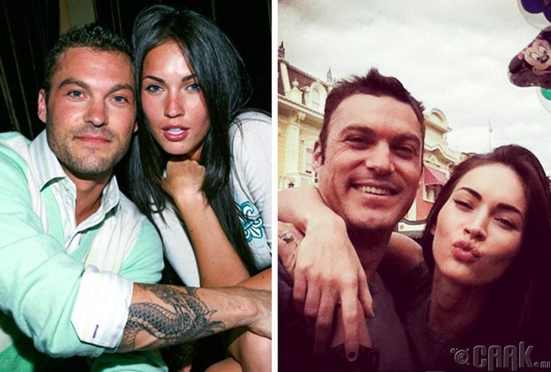 Меган Фокс болон Брайан Остин Грин (Megan Fox, Brian Austin Green)