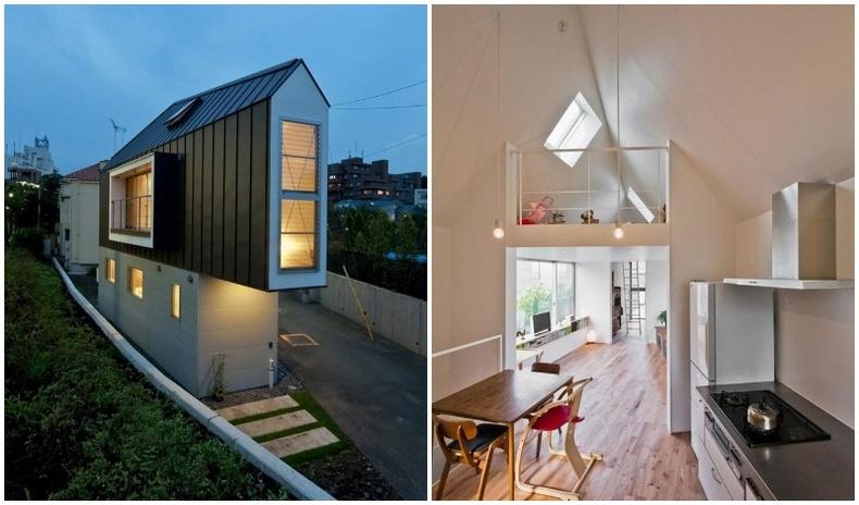 Япончуудын бүтээсэн өвөрмөц байшин