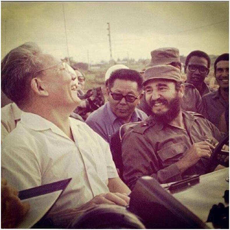 Ю.Цэдэнбал Куба улсад айлчлахад Фидель Кастро өөрөө Газ-69 машин жолоодон хотоо үзүүлжээ, 1972