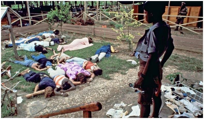 1978 онд Гайана улсын Жонстаунд гарсан аллагаар 900 хүн амь үрэгджээ