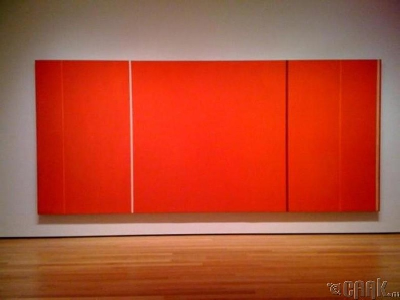 """Барнетт Ньюман """"Аннагийн гэрэл"""" - 105.7 сая доллар"""
