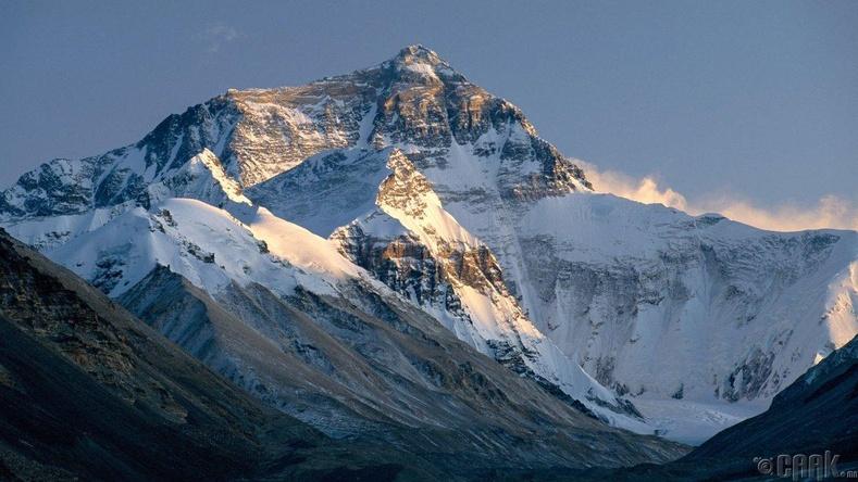 Эверест (Жомолунгма) - 8848 метр