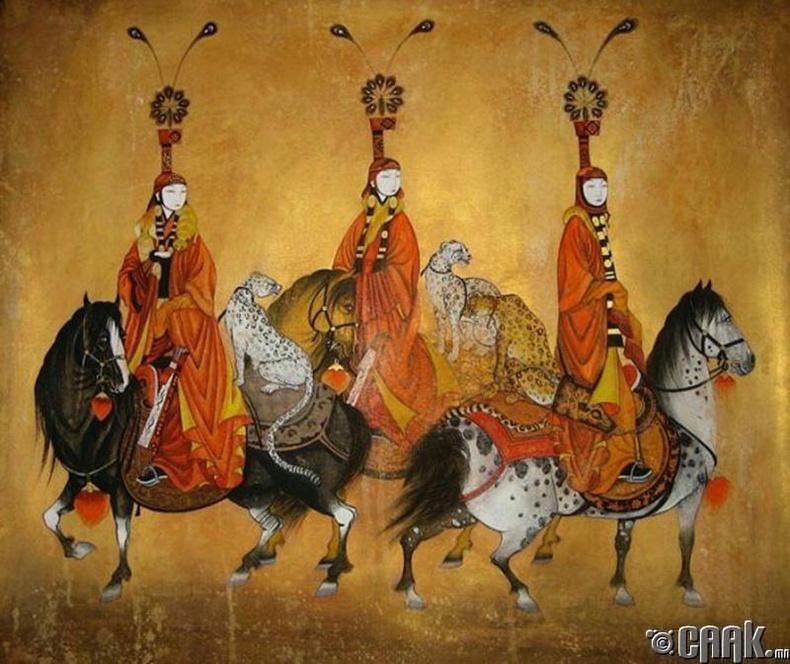 Монгол эмэгтэй