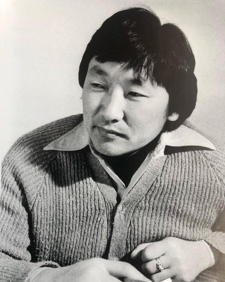 Яруу найрагч, зохиолч Д.Урианхай (1980 он)