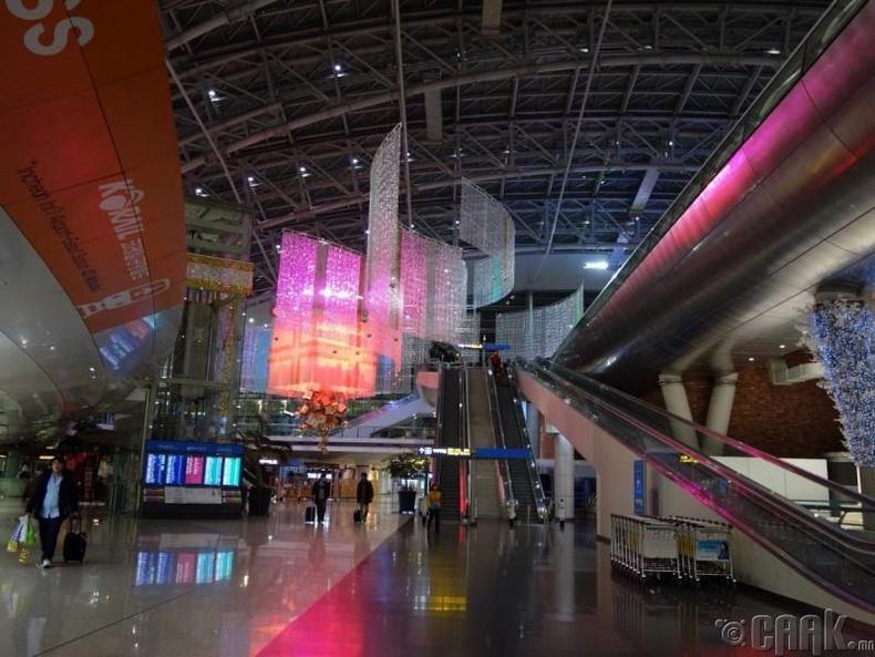 Инчоны олон улсын нисэх онгоцны буудал, Өмнөд Солонгос