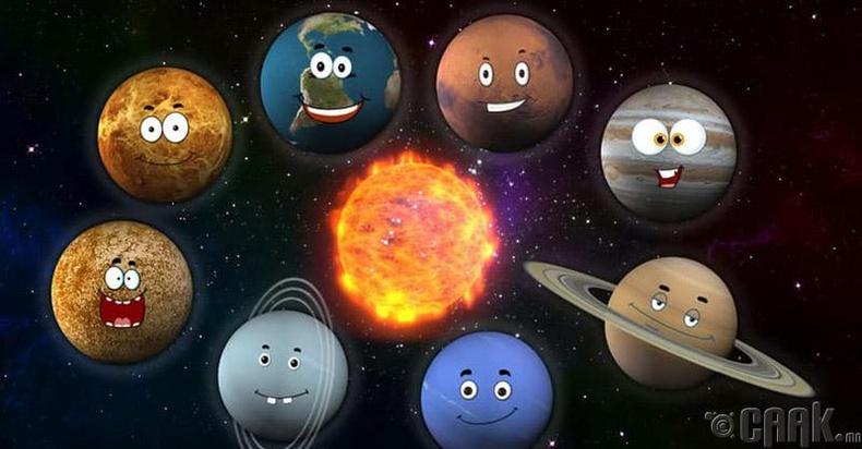 Мянга мянган гариг ертөнц