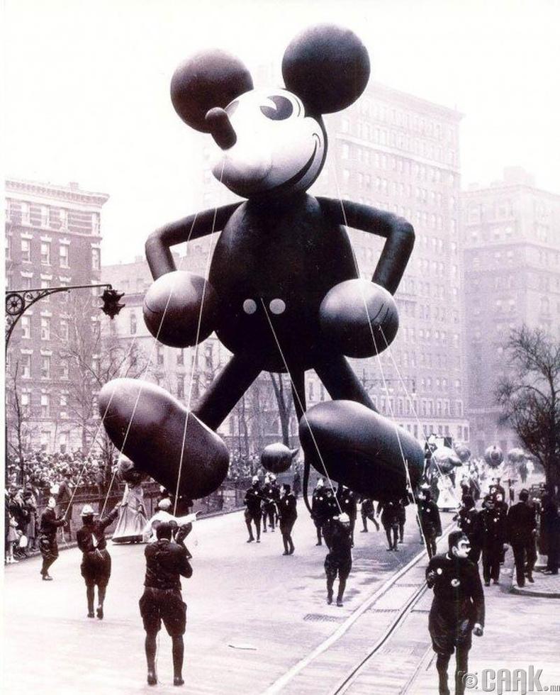 Мики хулганы анхны загвар