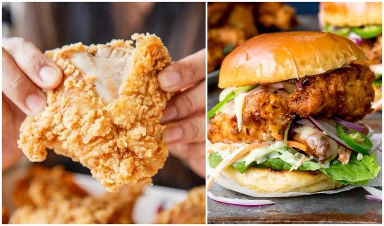 Гэртээ KFC тахиа, бургер хийж идэцгээе!