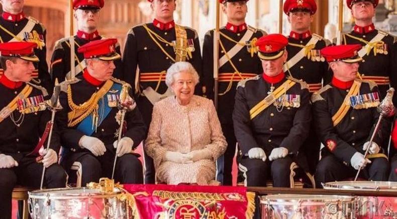 Хамгийн өндөр хамгаалалттай язгууртан -  Хатан хаан 2-р Элизабет