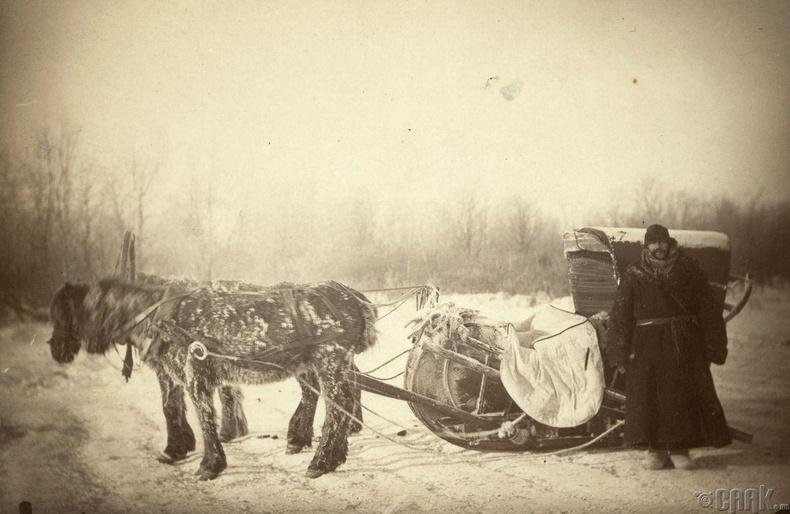 Сибирь дэх шуудан хүргэгчид