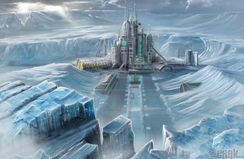 Антарктид тивд нууц лабораторитой байсан