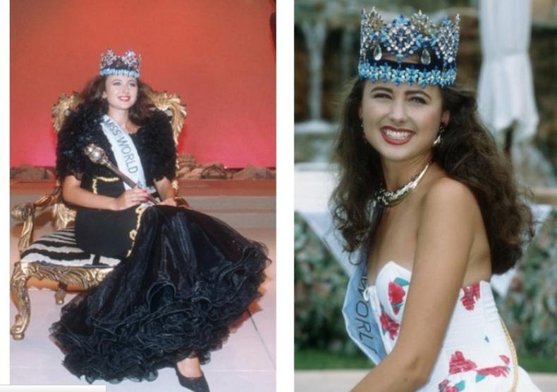 Юлия Курочкина — «Дэлхийн Мисс» 1992 он
