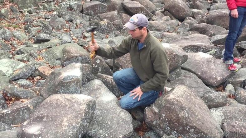 Пенсильванийн цангинадаг чулуу